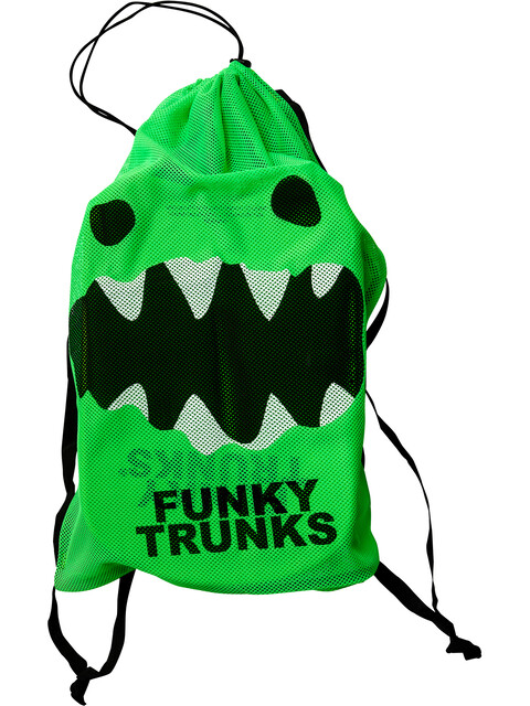 Funky Trunks Mesh Gear Bag Taske Herrer grøn/sort